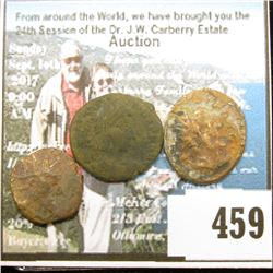 (3) Different late Roman AE copper Coins, I am sorry but didn't have time to attribute them. Your ga
