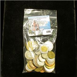Group of (50) Assorted Foreign Coins, never catalogued.