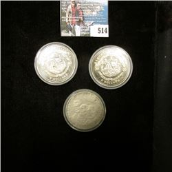 2000 $5 XXVII Olympic Games Republic of Liberia Commemorative Coin; 2000 $5 Battle of Bull Run Repub
