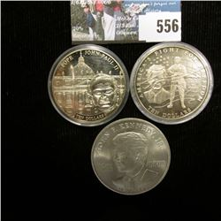 2002 Republic of Liberia $10 America's Fight For Freedom Commemorative; 2005 Republic of Liberia $10