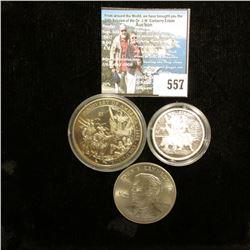 "2000 Republic of Liberia $5 Commemorative of ""Discovery of America 1492 Columbus""; 2000 Republic of"