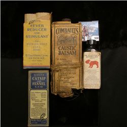 """Box with bottle """"Clover's Imperial Medicines Fever Reducer and Stimulant For Puppies, Dogs Cats Foxe"""