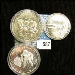 """""""Battle of Gettysburg"""" 2000 Republic of Liberia $5 Commemorative, encased; 2000 Republic of Liberia"""