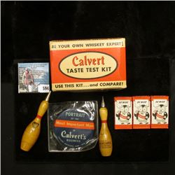 """(3) Antique Boxes of """"Berkeley Blades Be Wise Calvert"""", """"Call For Calvert It's S.M.O.O.T.H."""" Razor B"""