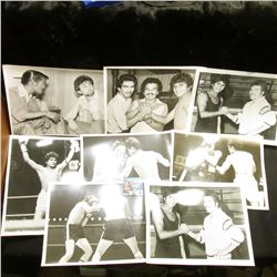 (25) Different Black & White 8  x 10  Photos of some of Boxings Greats.