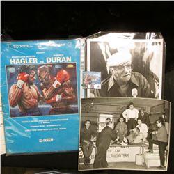 "(15) Pieces of Boxing Memorabilia including 8"" x 10"" Black & White Photos."