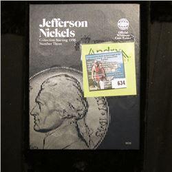 1996-2008 Jefferson Nickel Set in a blue Whitman folder.