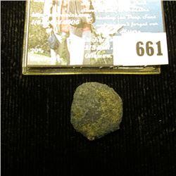 1715 Fleet Treasure Coin, Encrusted. Wreck NCB. Number 13945.