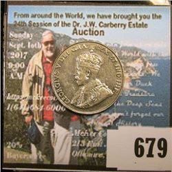 1932 Canada Nickel, Brilliant Uncirculated.