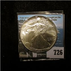 1994 U.S. American Silver Dollar One Ounce .999 Fine Silver. Brilliant Uncirculated.