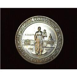 1936 Columbia, South Carolina, Sesquicentennial U.S. Commemorative Half Dollar, MS 63. Mintage 9,007