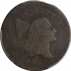 1795 1/2C. Liberty Cap Half Cent. PCGS Genuine.