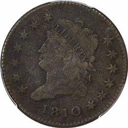 1810 1C. PCGS Genuine.