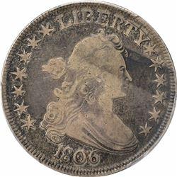 1806 50C. PCGS F12.