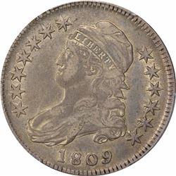1809 50C. PCGS VF30.