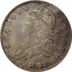 1809 50C. PCGS VF35.