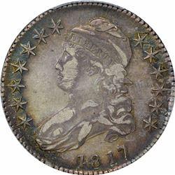 1817 50C. PCGS XF40.