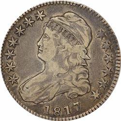 1817 50C. PCGS VF25.