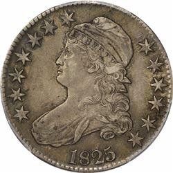 1825 50C. Capped Bust Half Dollar. PCGS AU50.