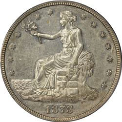 1878-S T$1. Trade Dollar. PCGS AU53.