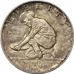 1925-S 50C. California Commemorative Half Dollar. PCGS MS62.