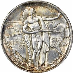 1926-S 50C. Oregan Commemorative Half Dollar. PCGS MS64.