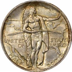 1936 50C. Oregan Commemorative Half Dollar. PCGS MS65.