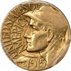 1915-S G$1. Panama-Pacific Gold Dollar. PCGS XF45.