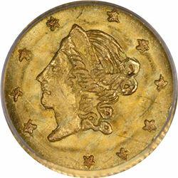 1871 Liberty Head Round $1/2 BG1011. Rarity 2. PCGS MS-64. OGH.