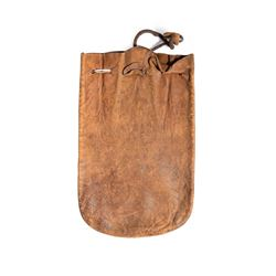 "California. Anselmo. Bank of Anselmo Banking Pouch. 8"" x 5""."