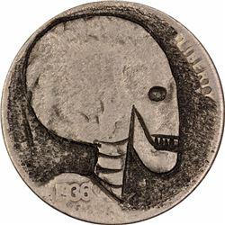 193? 5C C-228 Brazzell Skull