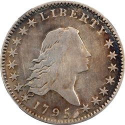 1795 50C. O-113a. A/E on Reverse. Rarity-4. VG Details – Improperly Cleaned. NGC.