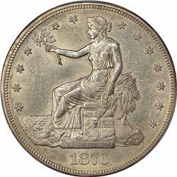 1876-CC T$1. Type I/II. AU-58 PCGS.