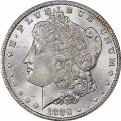1880/79-CC $1. Reverse of 1878. MS-64 PCGS.