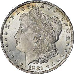 1881-CC $1. MS-65 PCGS.