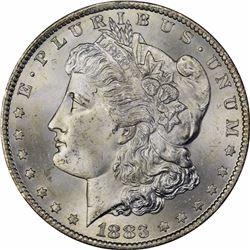 1883-CC $1. MS-64 PCGS.