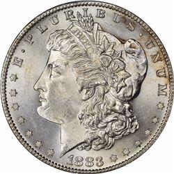 1883-S $1. MS-63 PCGS.