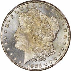 1885-CC S$1. MS-65 PL NGC.
