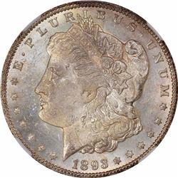 1893-CC S$1. MS-63 NGC.