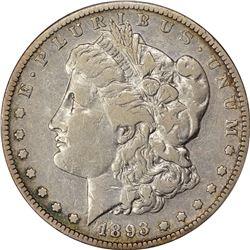 1893-S $1. Fine-15 PCGS.