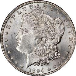 1894-S S$1. MS-62 NGC.