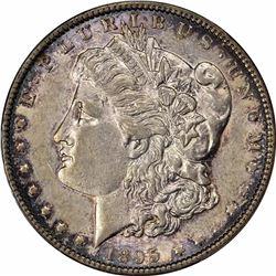 1895-O $1. AU-50 PCGS.