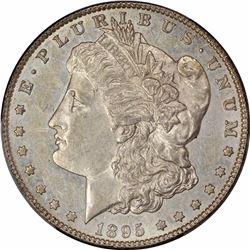 1895-S $1. AU-55 PCGS.