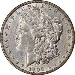 1896-O S$1. AU-53 NGC.