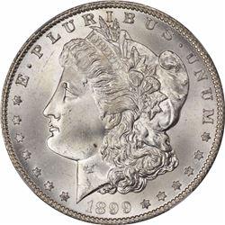 1899-O S$1. MS-66 NGC.