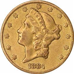 1884-CC $20. EF-45 ANACS.