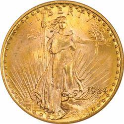 1924 $20. MS-64 NGC.