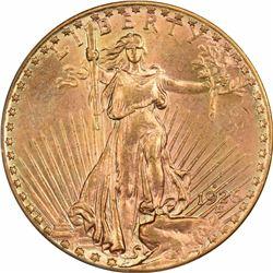 1926-D $20. MS-62 PCGS.