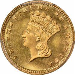 1884 G$1. MS-67 PCGS. CAC.