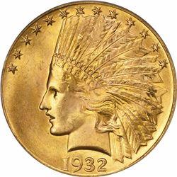 1932 G$10. MS-65 PCGS. CAC.